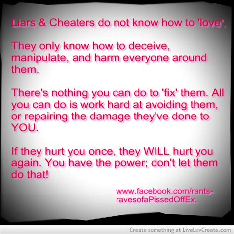 Funny Quotes About Cheaters