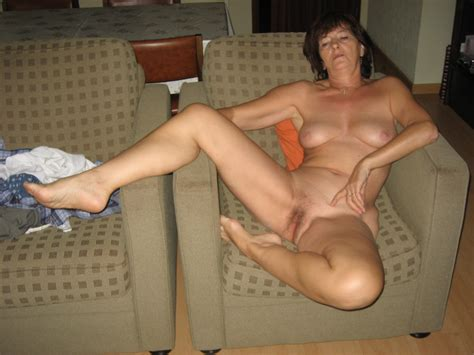Mature Joëlle Naked On A Sofa Legs Open For A Fuck Page