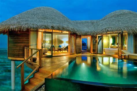 Häuser Urlaub by Insel Urlaub In Einem Wasserbungalow Am Meer Malediven