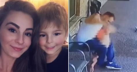 dad facing child abuse charges  surveillance video