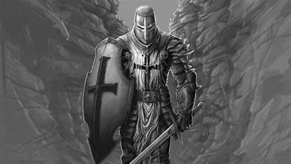 Knight Warrior 4k Sword Shield Fantasy Wallpapers