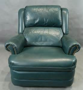 Lazy Boy Recliner Green Leather