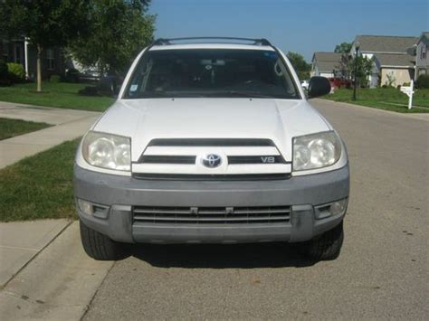 Find Used 2003 Toyota 4runner New Body Style Salvage