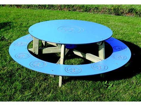 table banquette ronde saturne 6 pl p naturels a