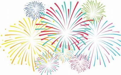 Fireworks Background Clipart Transparent
