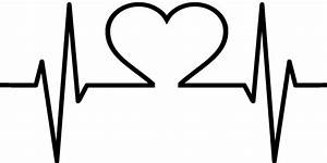 Library Of Heart Beat Clip Art Library Download Black And