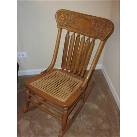 Antique Cane Rocking Chair  Antique Furniture