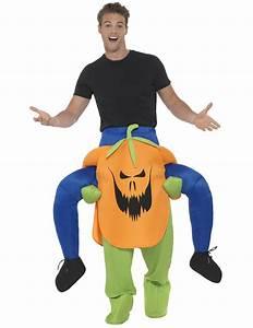 Faschingskostüme Auf Rechnung : mann auf r cken von k rbis halloweenkost m kost me f r erwachsene und g nstige faschingskost me ~ Themetempest.com Abrechnung