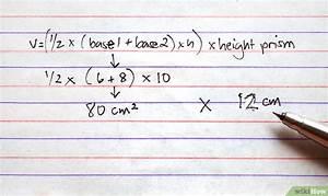 Grundfläche Trapez Berechnen : das volumen von einem prisma berechnen wikihow ~ Themetempest.com Abrechnung