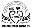 Free Family Reunion T-Shirt Design Catalog – In His Image ...