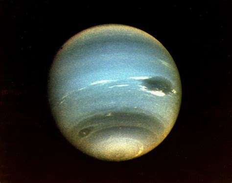 Neptune From First Voyager 2 Flyby