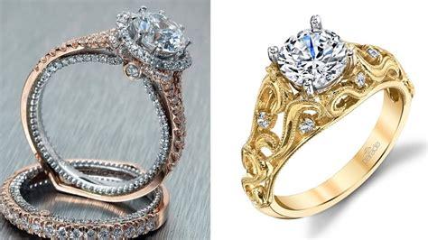 latest best gold diamond ring designs for diamond wedding ring for engagement