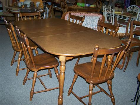 maple dining table set exceptional used dining sets 4 vintage maple dining room