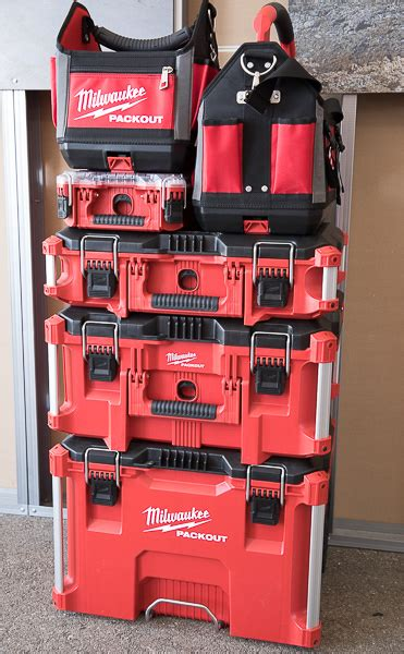 portable tool boxes milwaukee packout tool boxes and storage system in photos