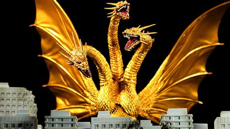 S.h.monsterarts King Ghidorah Special Color Version Review