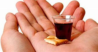 Image result for Holy Communion Bread and Wine