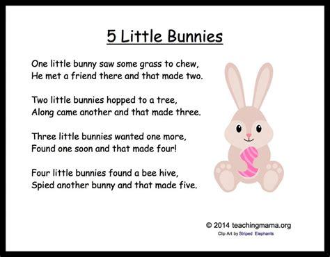 5 bunny chants for preschoolers 762 | 5LIttleBunnies 1024x800