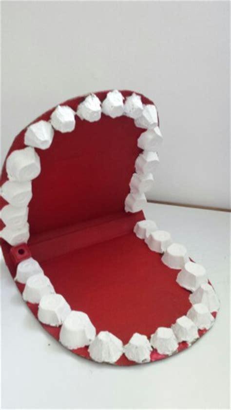 boca de cart 243 n para trabajar higiene dental cepillado dientes lengua sentido gusto