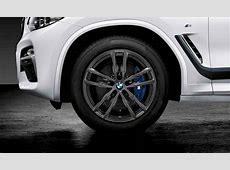 BMW Kompletträder M Doppelspeiche 698 orbitgrey 19 Zoll X3