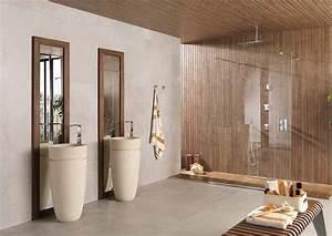 installation dune douche a litalienne frenchimmo With porte de douche coulissante avec carrelage moderne salle de bain