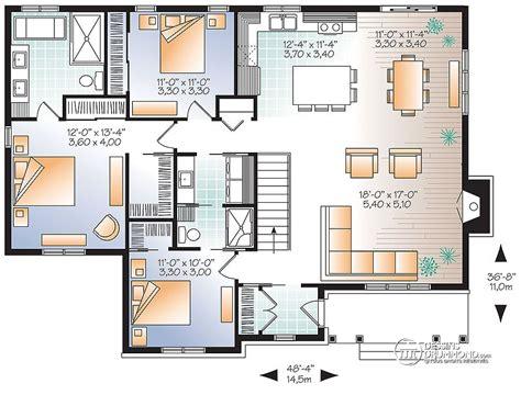 plan chambre salle de bain plan maison 3 chambres 2 salles de bain