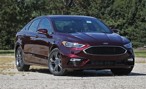 2020 Ford Fusion Sport With Performance Tires Review