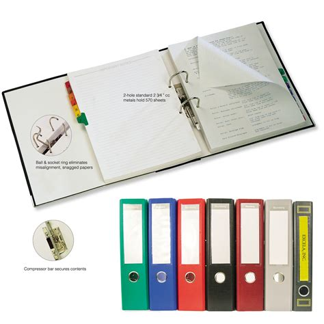 Lever Arch 2 Ring European Style Binders Lever Arch 2 Ring European Style Binders