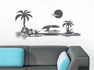 Pflanztopf Für Palmen : wandaufkleber tattoo wanddeko deko f r badezimmer ~ Lizthompson.info Haus und Dekorationen