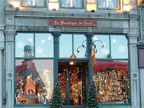 deco de noel pour magasin la boutique de no 235 l de qu 233 bec decorations city and area