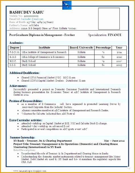 commerce graduate fresher resume sample  samples