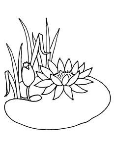 Free coloring pages for kids | Flower coloring pages