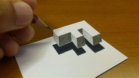 easy   drawing  floating letter