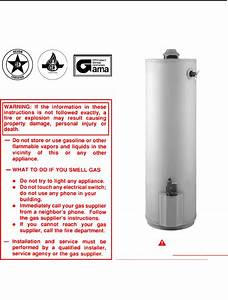 State Industries Water Heater 196114