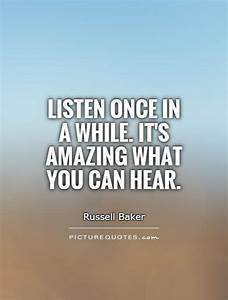 listening quotes and sayings Quotes