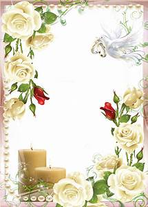 Wedding frame PNG
