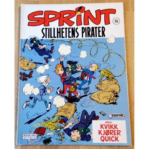 Sprint - Nr. 36 - Stillhetens pirater (1. opplag) - O ...