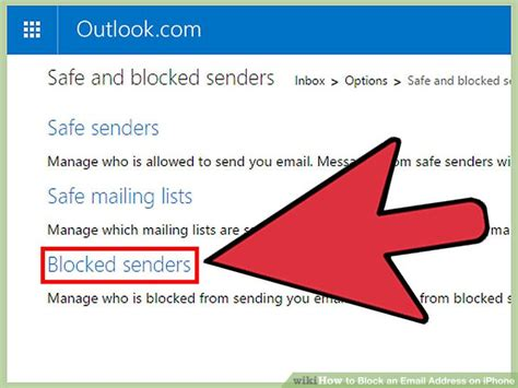 how to block emails on iphone 4 ways to block an email address on iphone wikihow