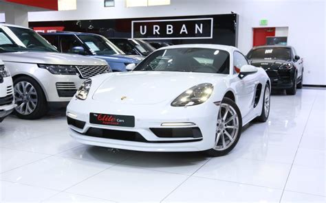 Research, compare and save listings, or contact sellers directly from 9 2018 718 cayman models nationwide. Porsche 718 Cayman 2018 for Sale in Dubai, AED 229,000 , White,Sold