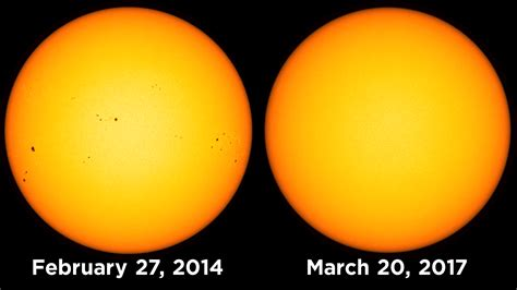 Mesmerizing Video Shows Sunspot Larger Than Earth Rotating ...
