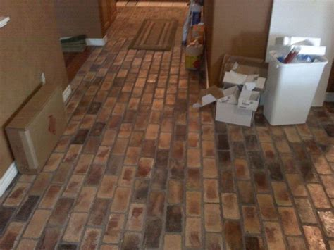 brick paver kitchen floor brick a floor pavers country mix gurus floor 4888