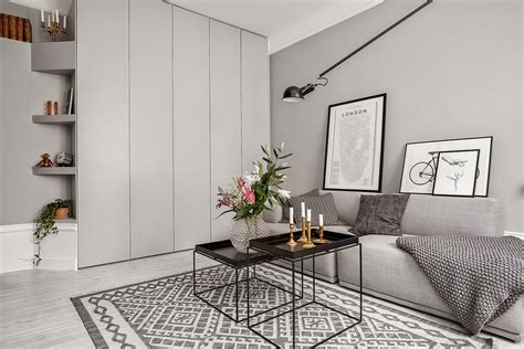 My Scandinavian Home Shades Of Grey In A Small Living Space
