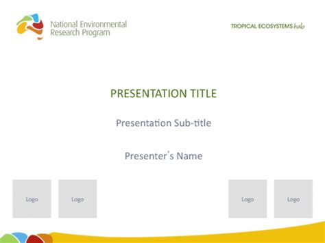 Conference Presentation Template Ppt by Nerp Te Hub Microsoft Powerpoint Presentation Template