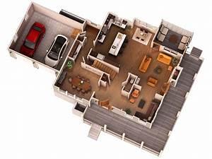 3d Floor Plan Render