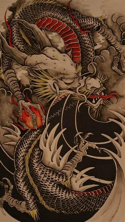Dragon Tattoo Phone Chinese Tattoos Japanese Dragons