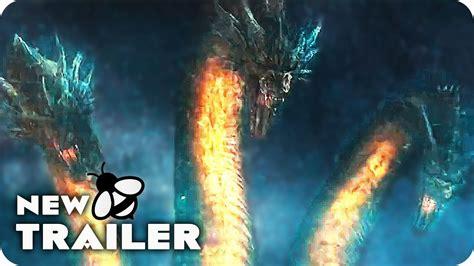 Godzilla 2 King Ghidorah Intimidation Spot & Trailer (2019