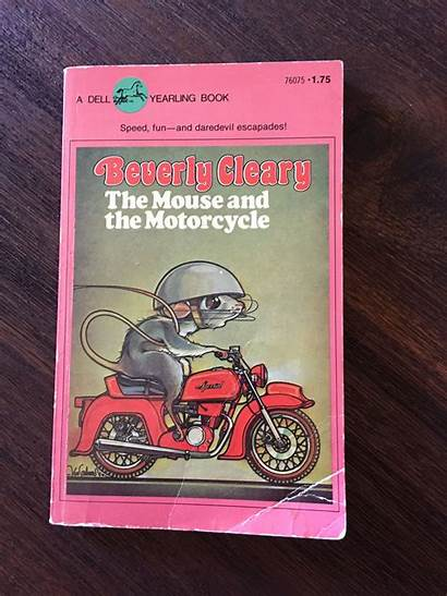 Motorcycle Mouse Beverly Cleary Covers