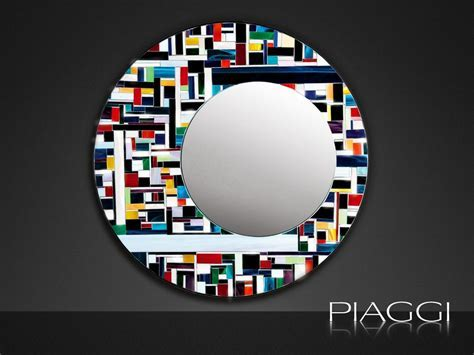 Eclipse PIAGGI glass mosaic mirror   Mirrors