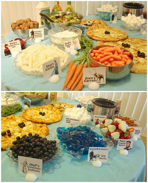 disney cuisine frozen themed food pixshark com images
