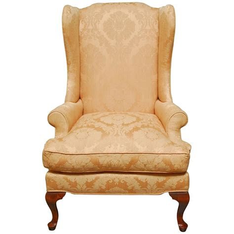 mahogany wing chair for sale at 1stdibs