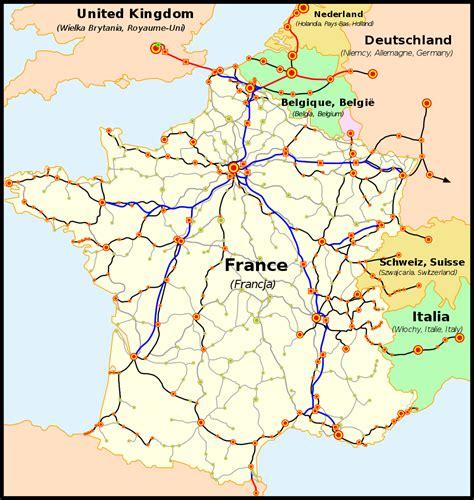 foto de File:Carte TGV svg Wikimedia Commons